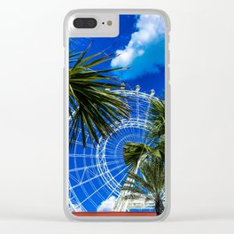 Orlando wheel Clear iPhone Case