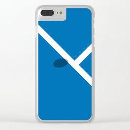 """IN"" – Hawk-Eye - Square Clear iPhone Case"