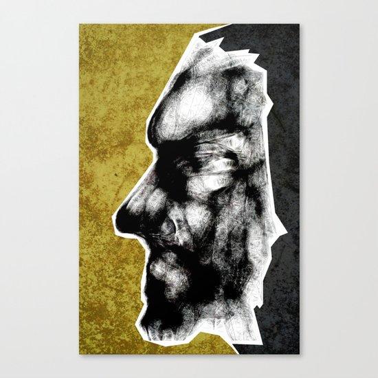 Mask #1 - Grit Canvas Print