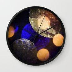 Planetary Wall Clock