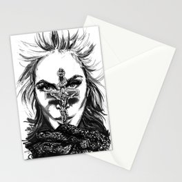 Rebel Cross Stationery Cards