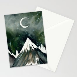 Beneath The Mountain Stationery Cards