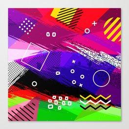 Memphis Four Canvas Print