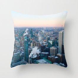 Toronto Sunset Throw Pillow
