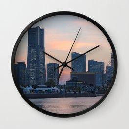 YOKOHAMA 01 Wall Clock