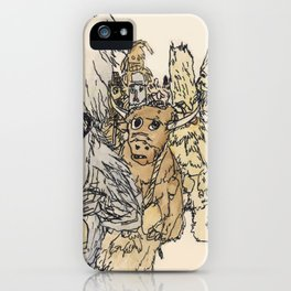 Koukeri (Mummers) iPhone Case