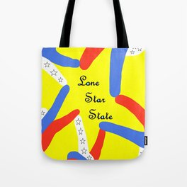 Lone Star State of Texas Tote Bag