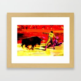 TAUROMACHIA Framed Art Print