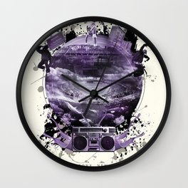 The Essence of The Bronx Wall Clock