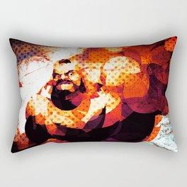The Russian Wrestler 2 Rectangular Pillow