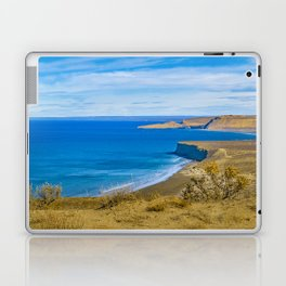 Landscape View from Punta del Marquez Viewpoint, Chubut, Argentina Laptop & iPad Skin