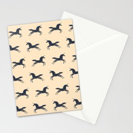 Unicorns Are Real (Pattern) Stationery Cards