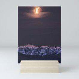 Eclipse Setting Mini Art Print