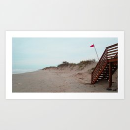 Outer Banks Beach Dunes Art Print