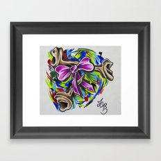 Coloured By Confusion Framed Art Print