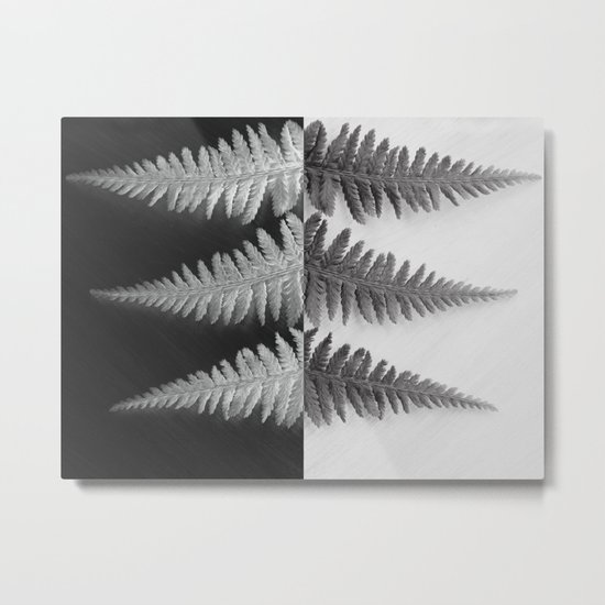 OPPOSITES LOVE - Ferns love Metal Print