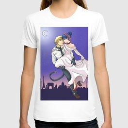Lady bug romantic night T-shirt