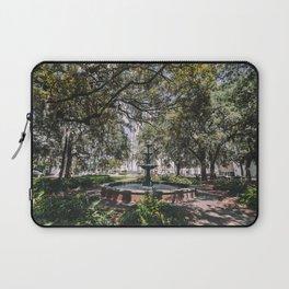 Lafayette Square - Savannah, Georgia Laptop Sleeve