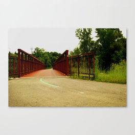 North Don Trail Bridgeway Canvas Print