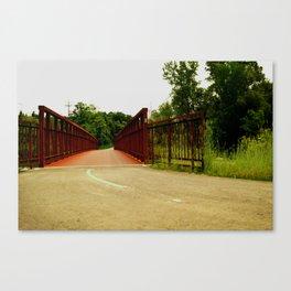 North Don Trail Bridgeway Canvas Print