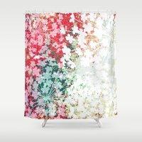 fifth harmony Shower Curtains featuring Harmony by Les Créas de Gaia