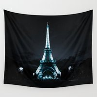 paris Wall Tapestries featuring parIS by 2sweet4words Designs