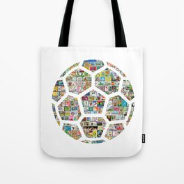 Philately Soccer Ball Tote Bag