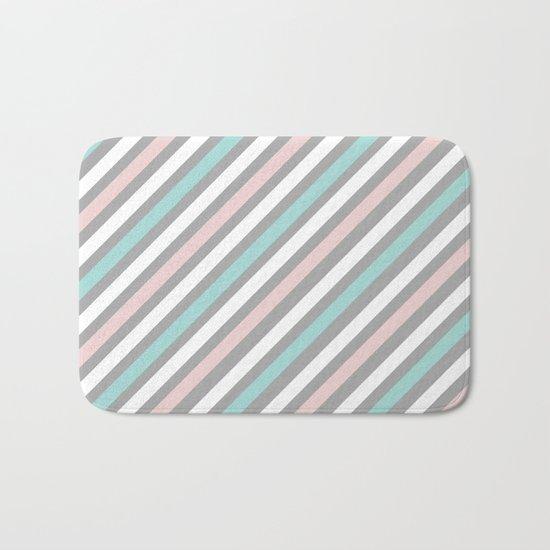 INFINITE LINES (abstract pattern) Bath Mat