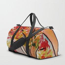 Fall Autumn in a Pumpkin Duffle Bag