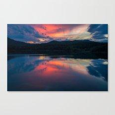 Llac de Banyoles Canvas Print