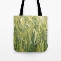 catcher in the rye Tote Bags featuring Rye by BlueShadowM
