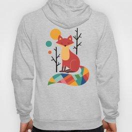 Rainbow Fox Hoody