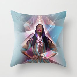 The Light of Truth Throw Pillow