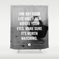 flash Shower Curtains featuring Flash. by Amazers