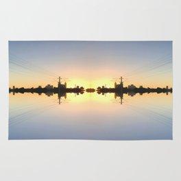Reflective City Rug