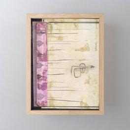 Hide Inside Framed Mini Art Print