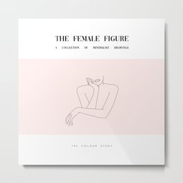 The female figure - Amelie Poster Metal Print