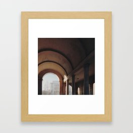 Old arch Framed Art Print