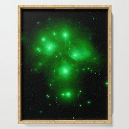 Galaxy : Pleiades  Serving Tray