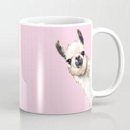 Sneaky Llama Coffee Mug