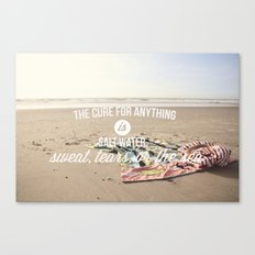 salt water cure Canvas Print