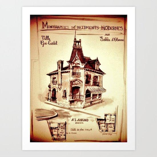 HOMETOWN GLORY Art Print