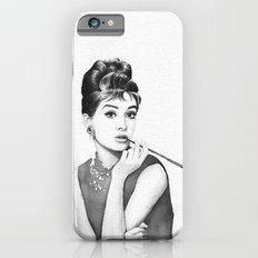 Audrey Hepburn Breakfast at Tiffanys iPhone 6s Slim Case