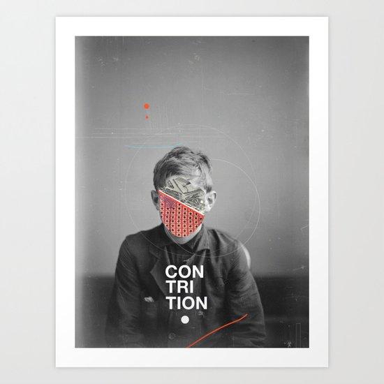 Contrition Art Print