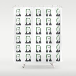 Johann Sebastian Bok Choy Shower Curtain