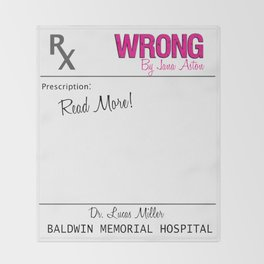 Prescription Pad Throw Blanket