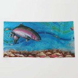 Gorging Rainbow Beach Towel