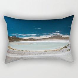 Panorama of Laguna Hedionda, Bolivia Rectangular Pillow