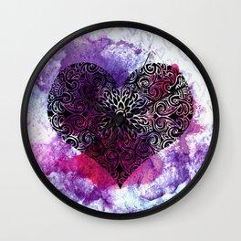 Zen Heart Wall Clock