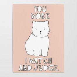 watch & judge Poster